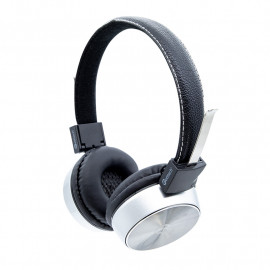 Headset Getttech GH-2000S Mesh, 3.5mm, with microphone,  silver