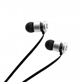 Earphones Getttech MI-1220N Soft with microphone black, 3.5 mm
