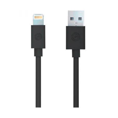 Cable USB 2.0 Getttech JL-3570 usb to lightning, 4.9 feet length, black