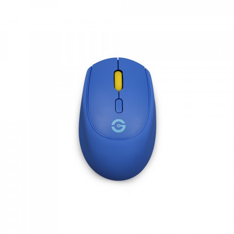Getttech Wireless Mouse Blue Rubber - SKU: GAC-24406B