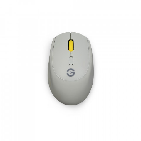 Getttech Wireless Mouse 2.4Ghz, Silicon Gel, Grey- SKU: GAC-24407G