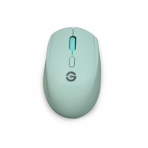 Getttech Wireless Mouse Mint Rubber - SKU: GAC-24408M