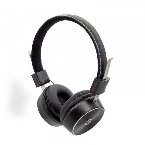 Headset Getttech GH-2000N Mesh, 3.5mm, with microphone, black