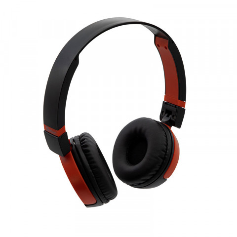 Headset Getttech GH-3000R Synergy, 3.5mm, with microphone, red