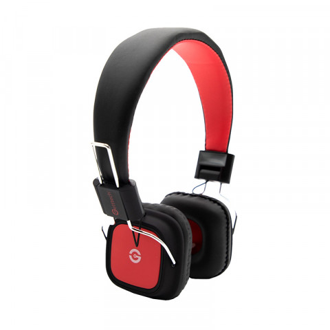 Headset Getttech GH-3500R Reveal, 3.5mm, with microphone, red