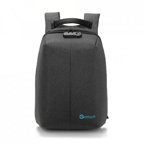 Getttech Laptop Backpack GMS-22001 Safety, Black