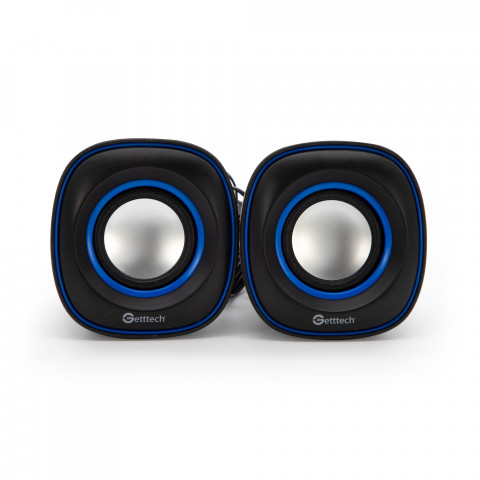 Stereo Speaker  Getttech SG-20U usb 2.0, 3.5 mm, 6 w
